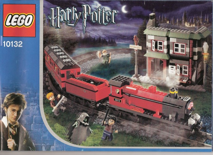 Motorized Hogwarts Express (10132)
