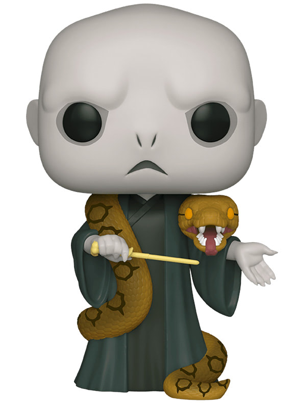#109 Lord Voldemort (With Nagini) (10″ Super Sized Pop)