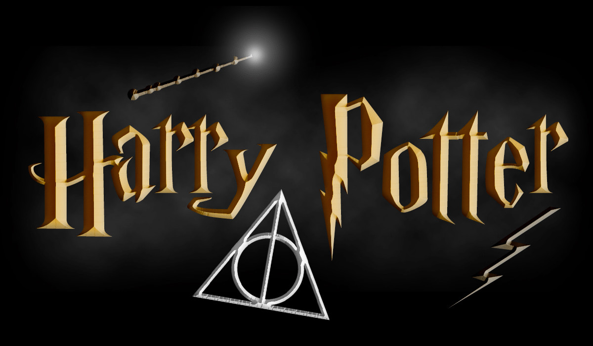 'Harry Potter' logo tutorial