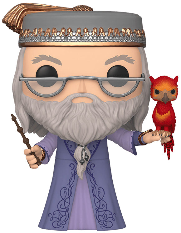 #110 Albus Dumbledore (With Fawkes) (10″ Super Sized Pop)