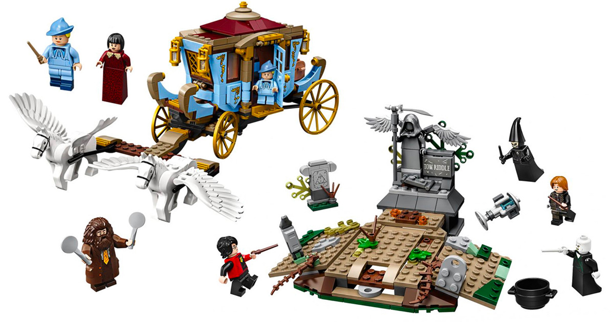 LEGO to release two new 'Goblet of Fire' sets in August