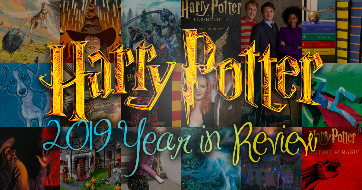 2019 'Harry Potter' year in review