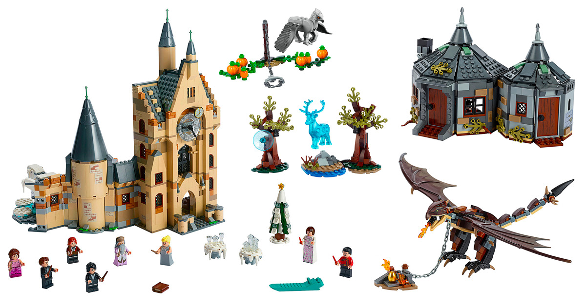 Five new 'Harry Potter' LEGO sets coming in June