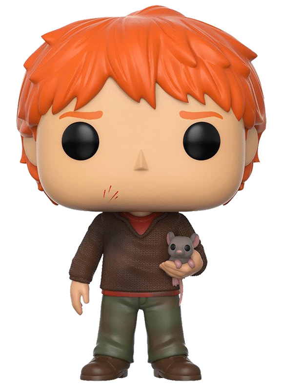 #44 Ron Weasley (With Scabbers)