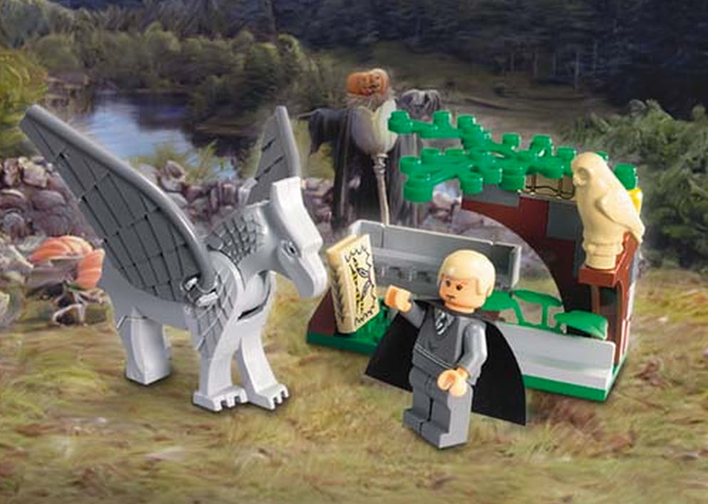 Draco's Encounter with Buckbeak (4750)