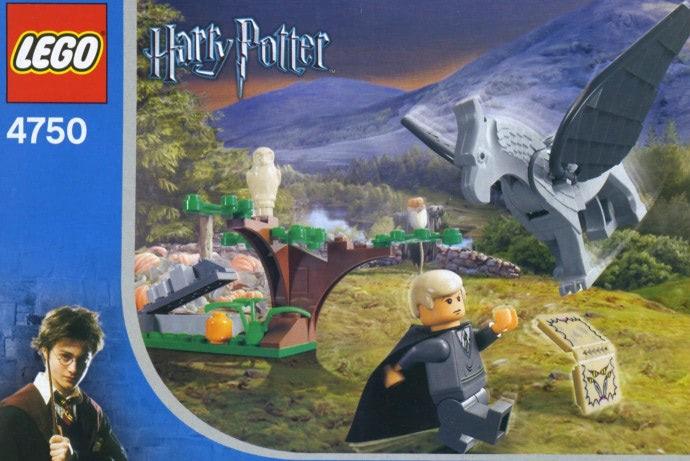Draco's Encounter with Buckbeak (4750)