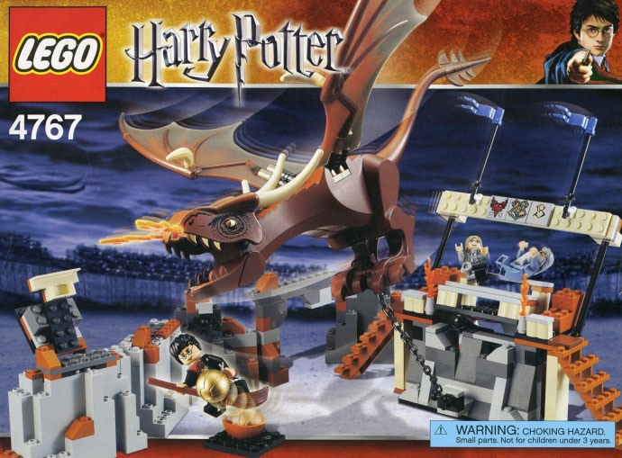 Harry and the Hungarian Horntail (4767)