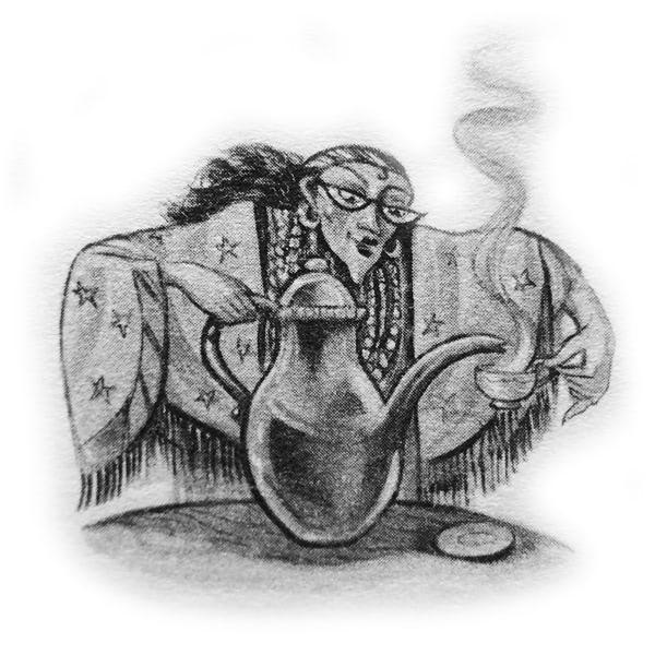 Talons and Tea Leaves