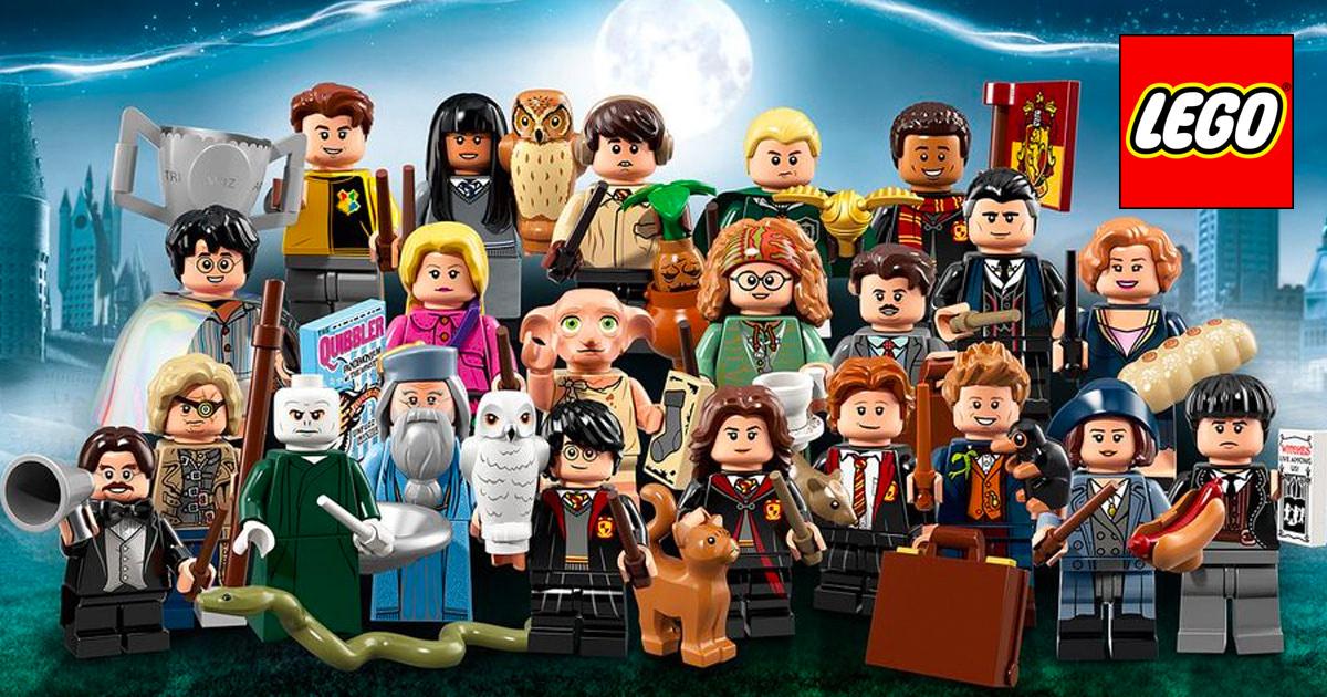 Lego ® Minifigures 71022 harry potter Draco Malfoy 04