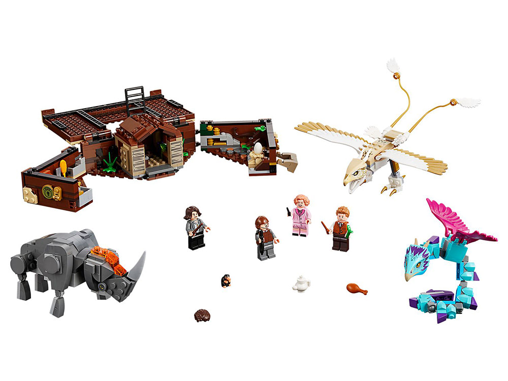 Newt's Case of Magical Creatures (75952)