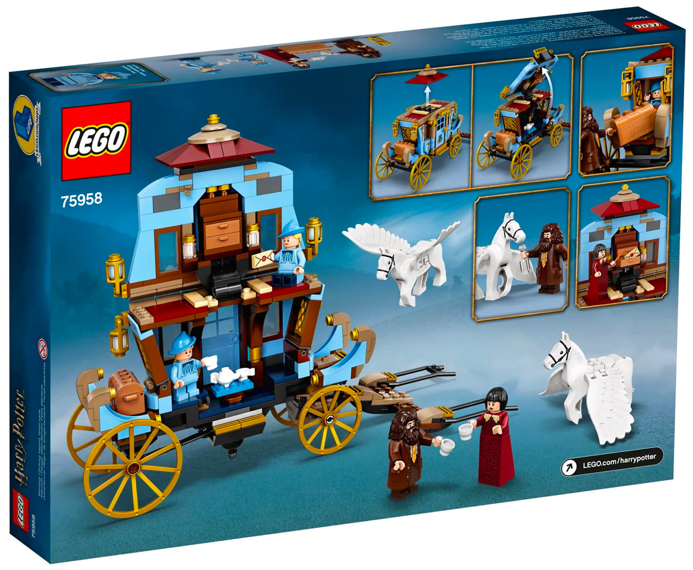 Beauxbatons' Carriage: Arrival at Hogwarts (75958)