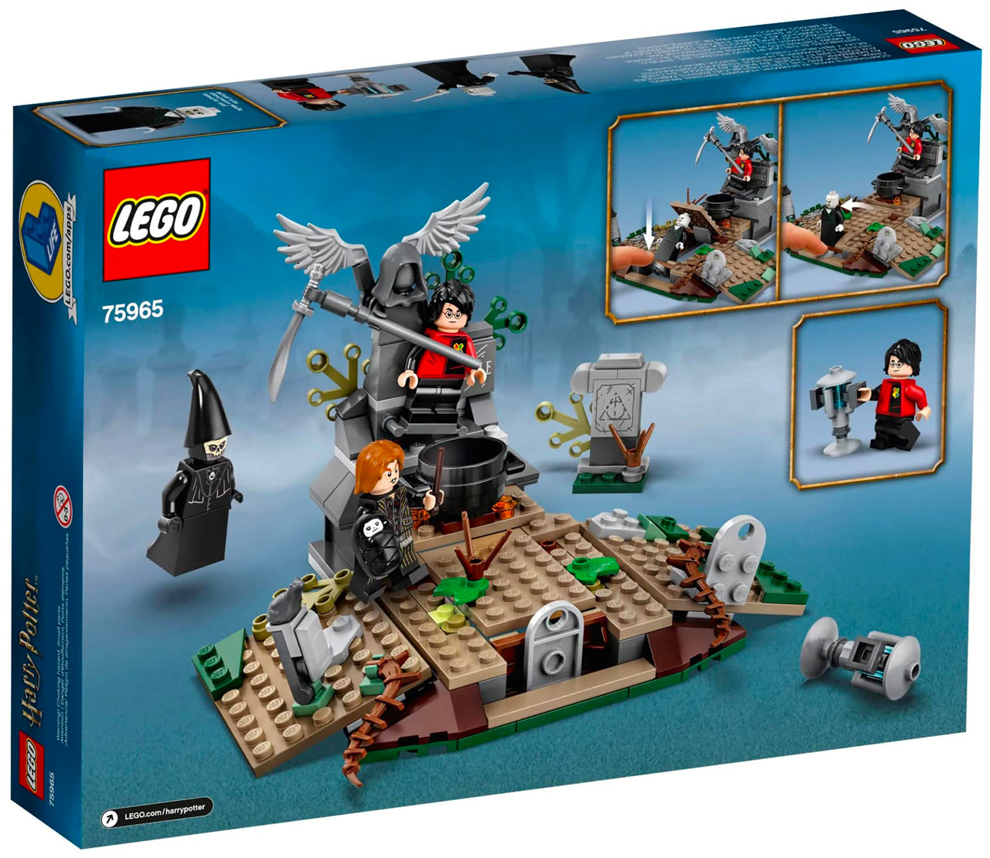 The Rise of Voldemort (75965)