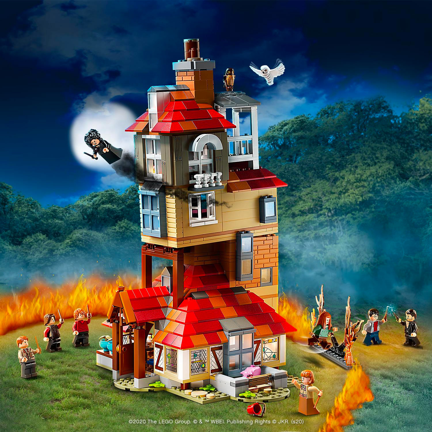 Attack on the Burrow (75980)