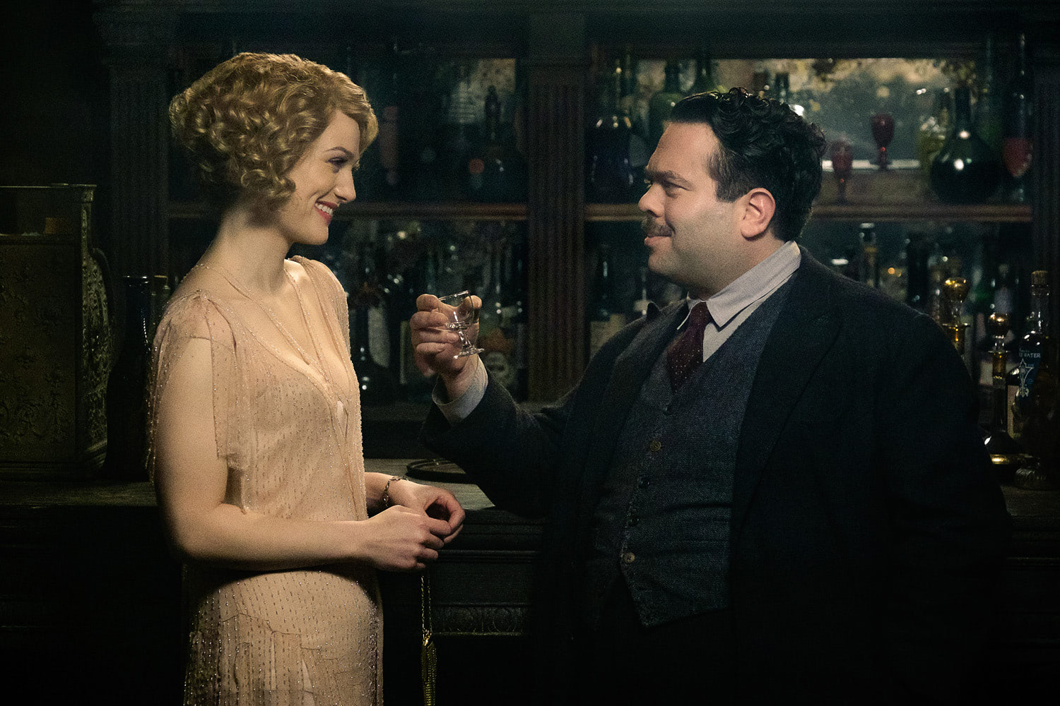 A toast to Queenie and Jacob