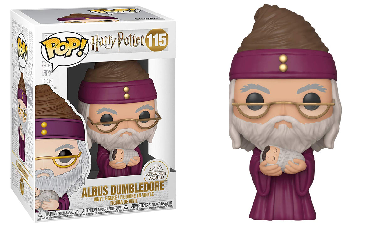 Albus Dumbledore (With Baby Harry) Pop! Vinyl