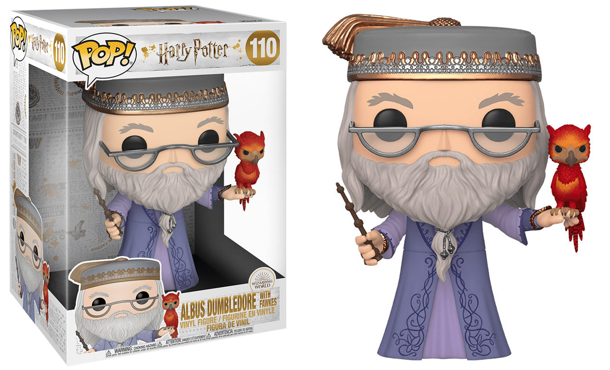 Albus Dumbledore (With Fawkes) Pop! Vinyl