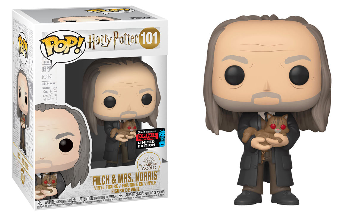 Argus Filch (With Mrs Norris) (Yule Ball) Pop! Vinyl