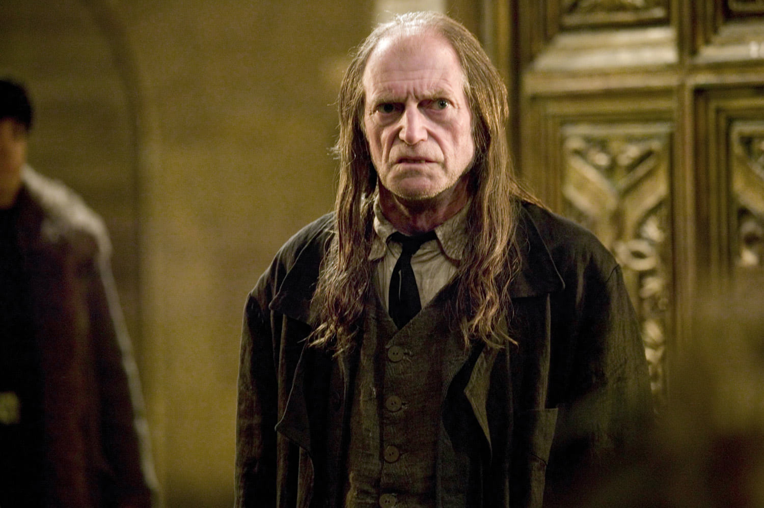 Argus Filch at Hogwarts