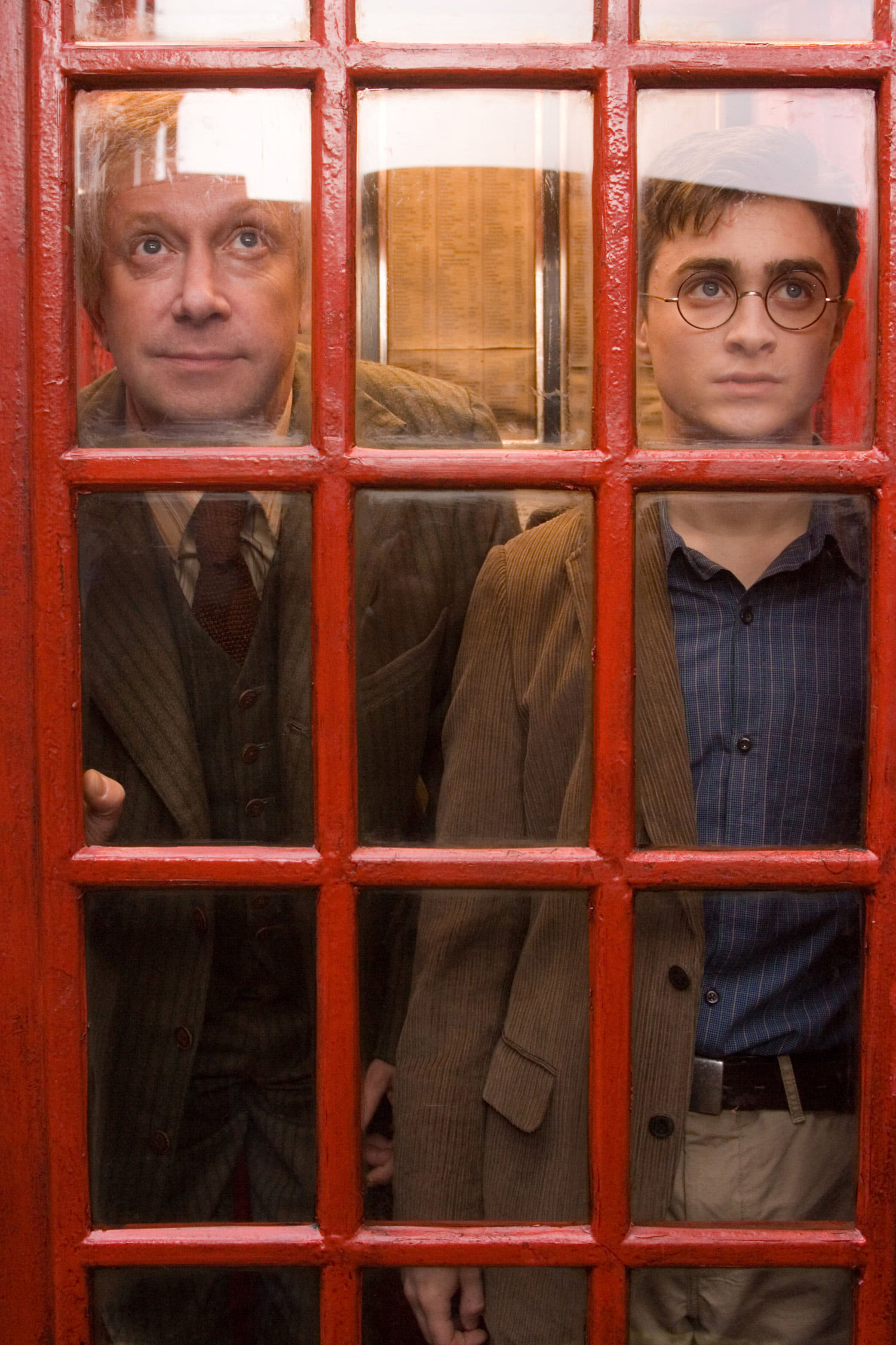 Arthur and Harry head into the Ministry