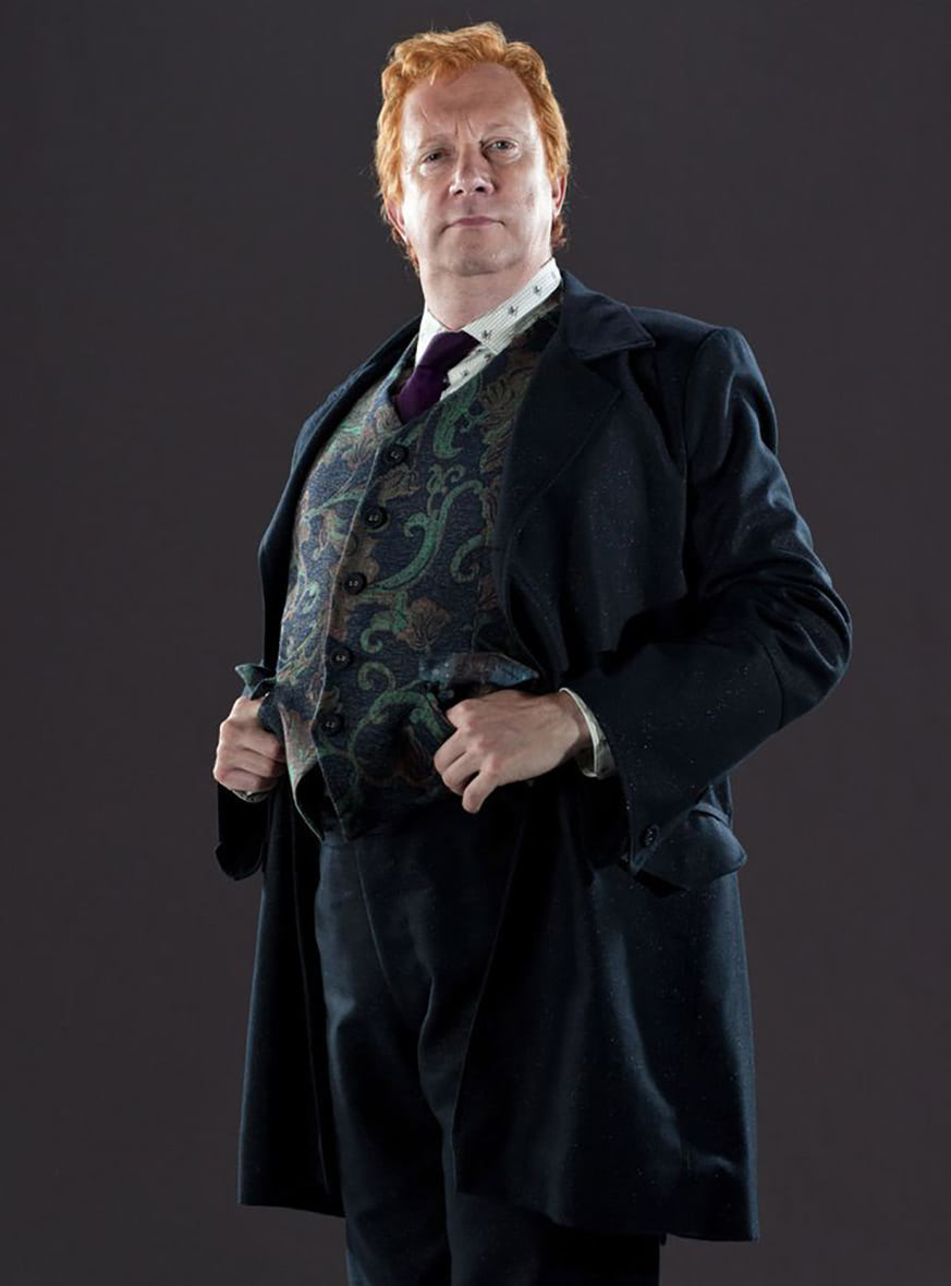 Arthur Weasley wedding portrait