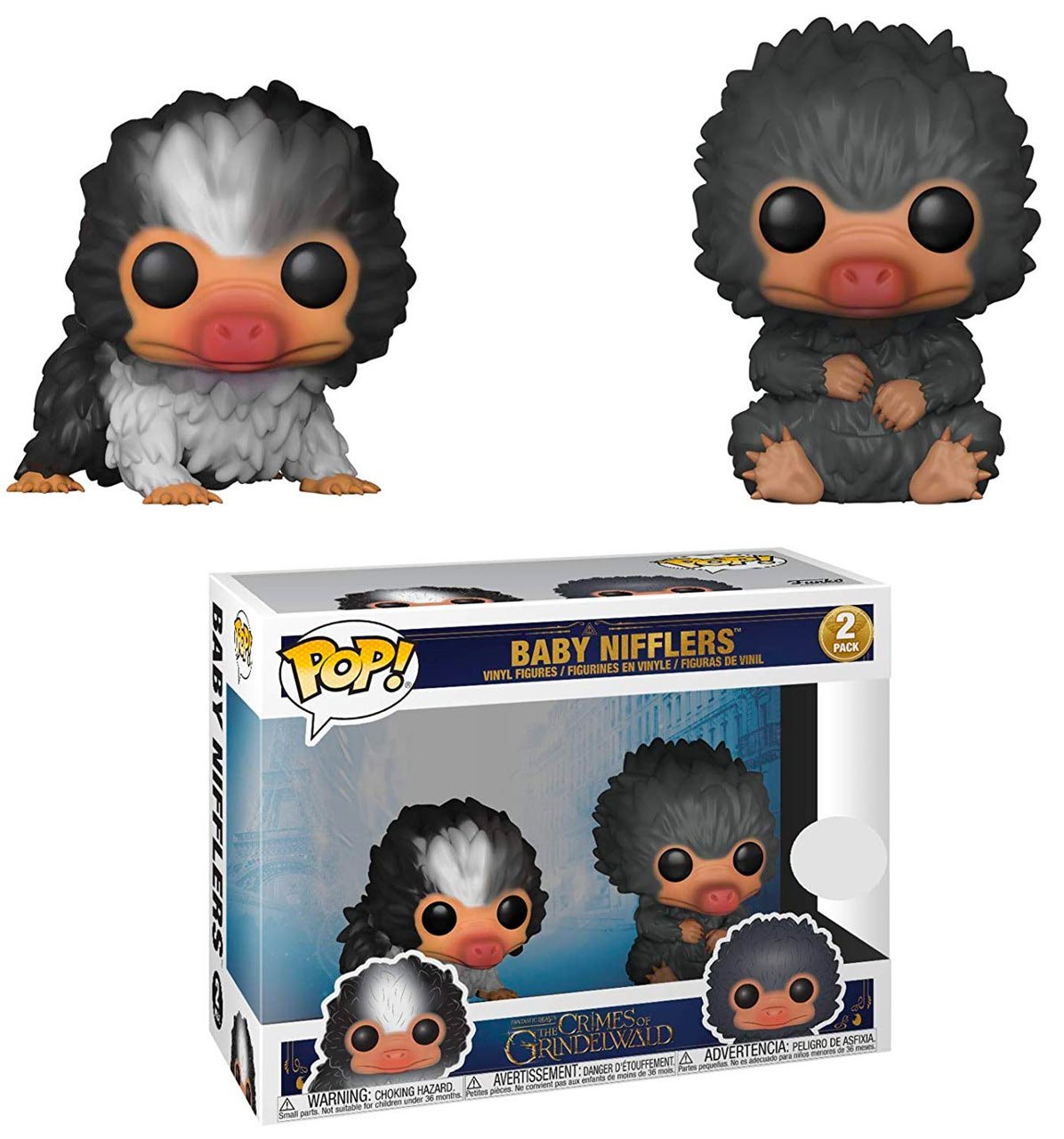 Baby Nifflers (Black & Grey) Pop! Vinyl