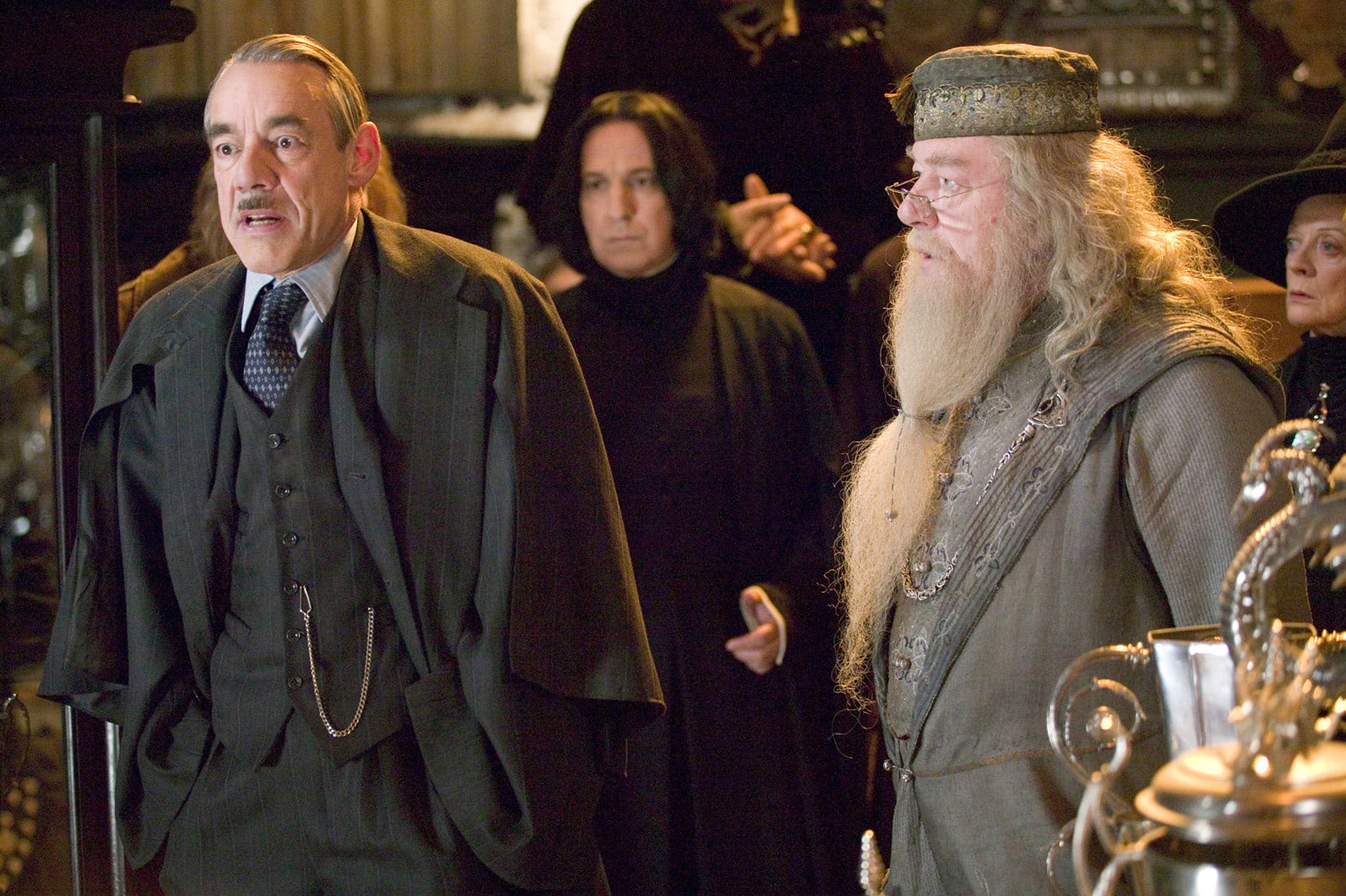 Barty Crouch, Snape, Dumbledore and McGonagall