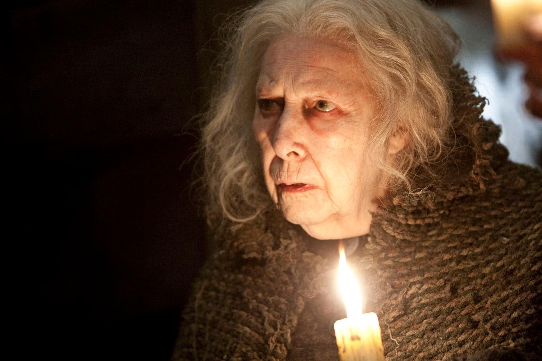 Bathilda Bagshot with candle