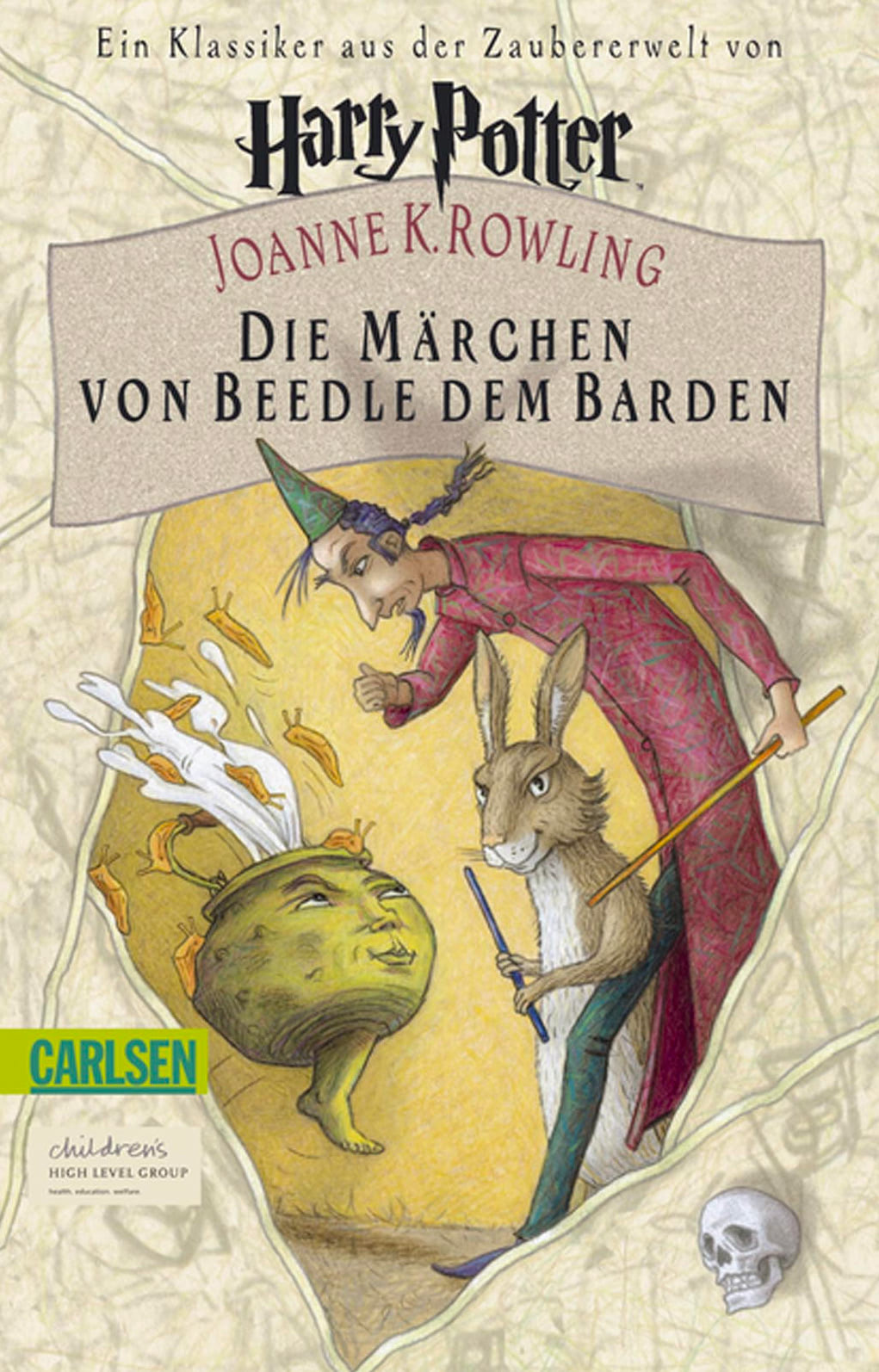 'Beedle the Bard' German edition