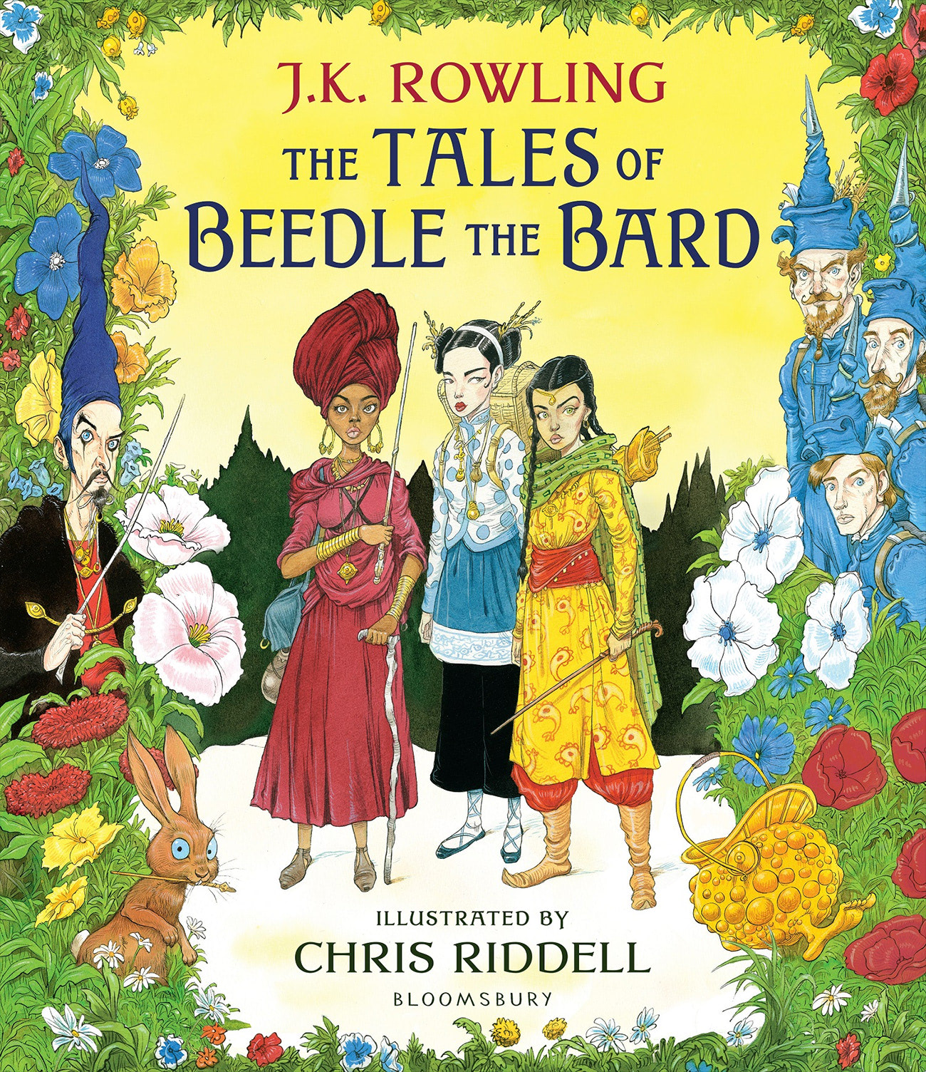 'Beedle the Bard' illustrated edition (Chris Riddell cover)