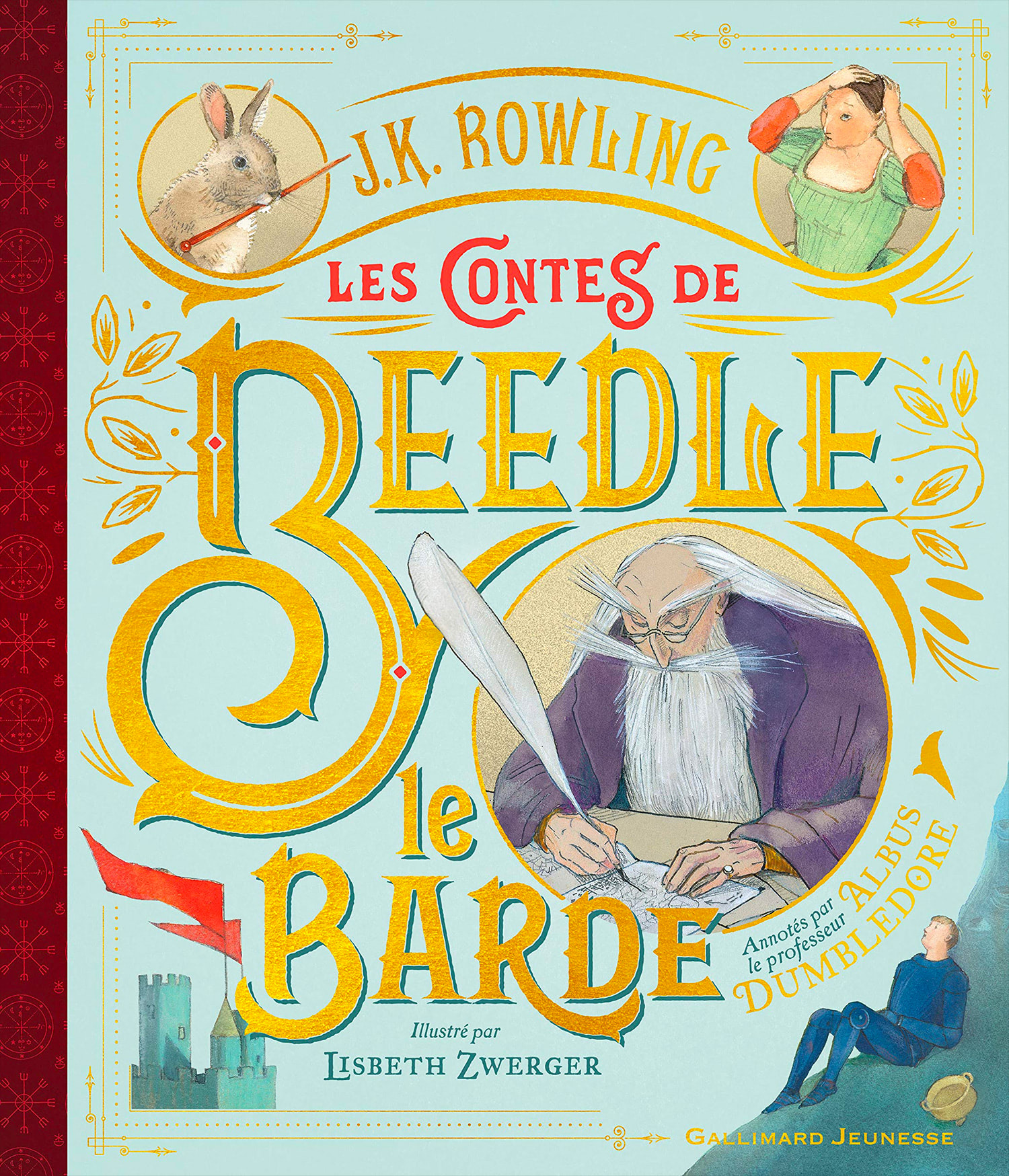 'Beedle the Bard' illustrated edition (French cover)
