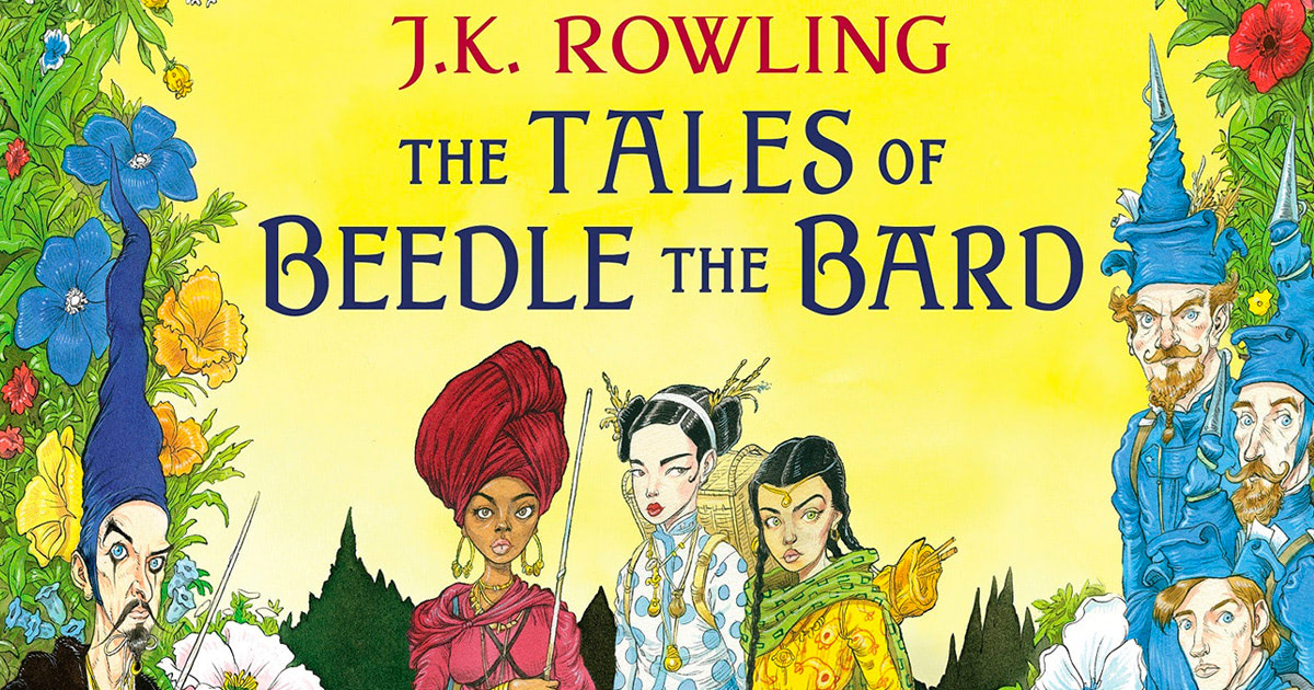 Bloosmbury reveals cover for new illustrated edition of 'The Tales of Beedle the Bard'