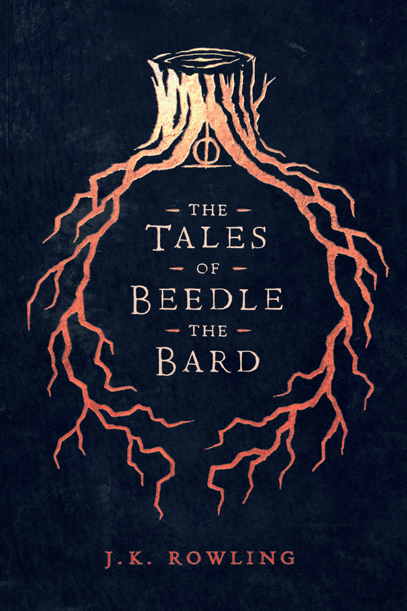 'Beedle the Bard' (Olly Moss Ebook cover)