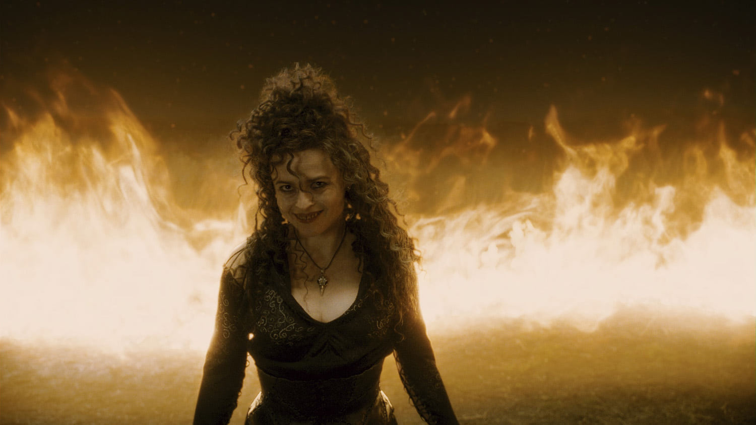 Bellatrix in the fire