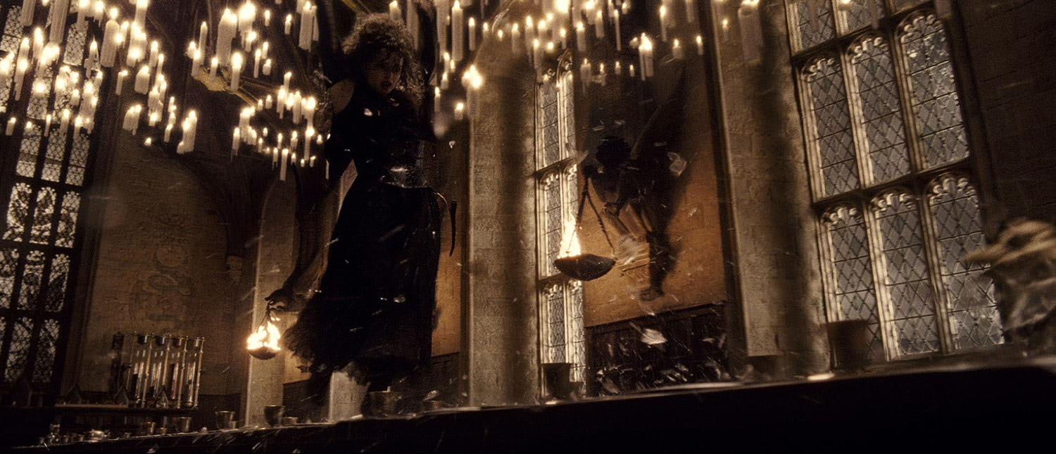 Bellatrix in the Great Hall