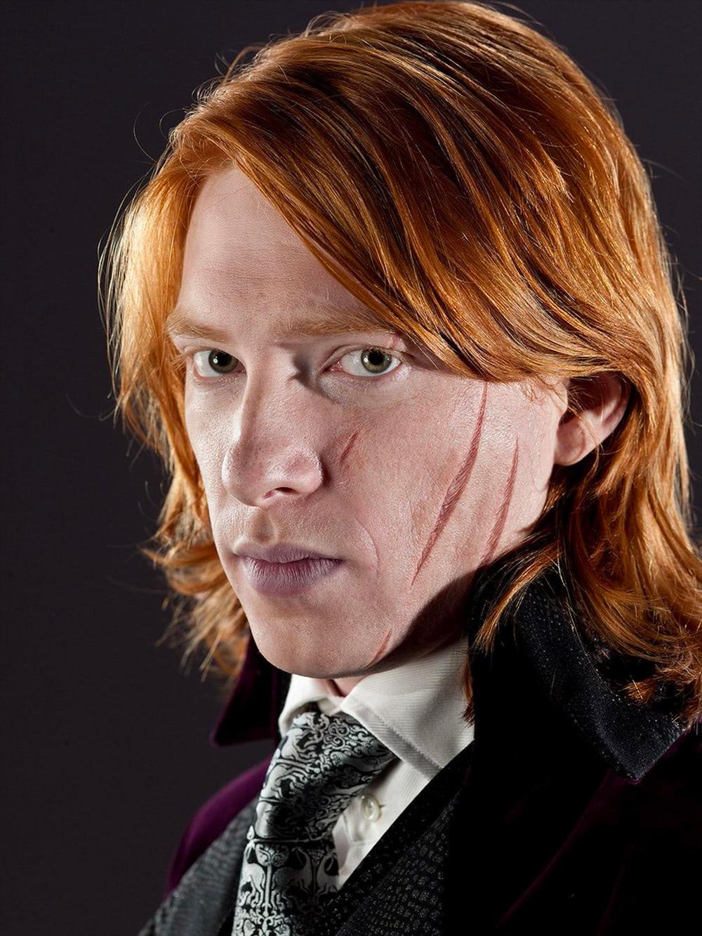 Bill Weasley wedding portrait