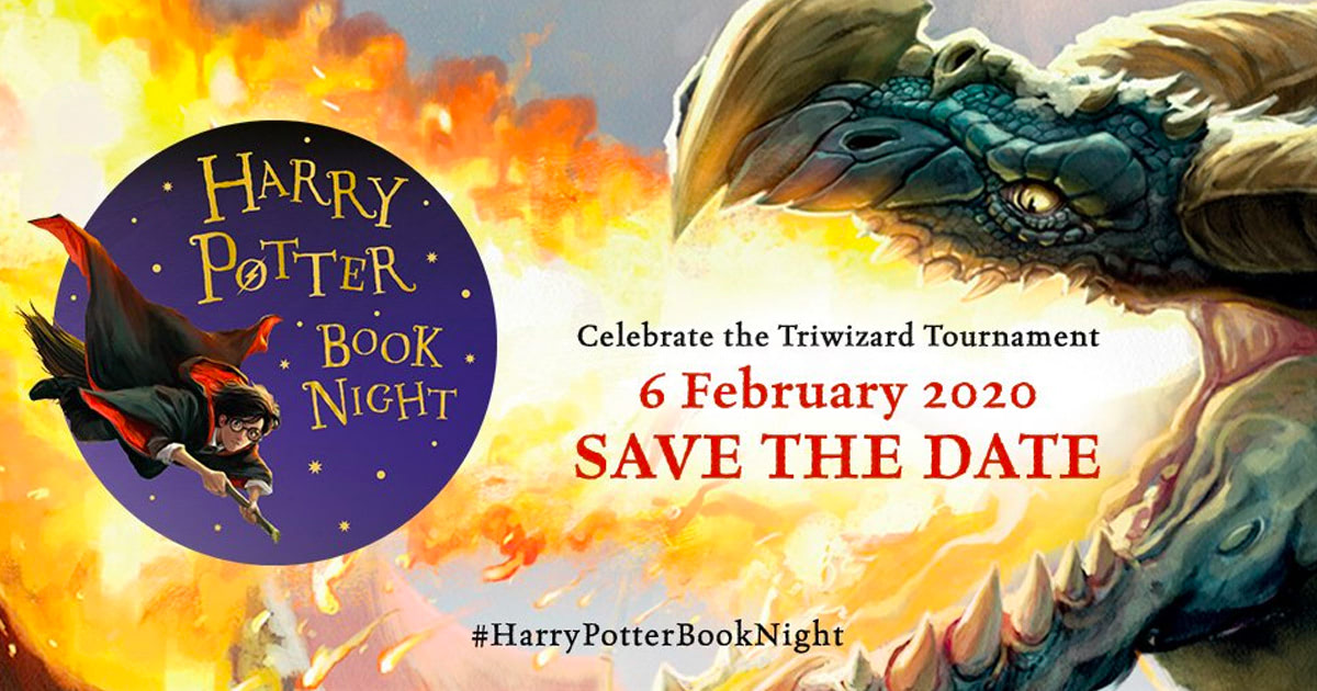 Bloomsbury announce Triwizard-themed 'Harry Potter' Book Night for 2020