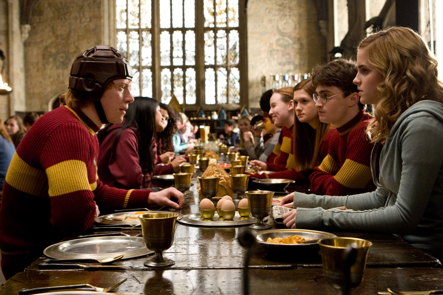Breakfast before Quidditch
