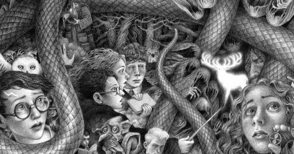Scholastic to publish new versions of 'Harry Potter' books with cover artwork by Brian Selznick