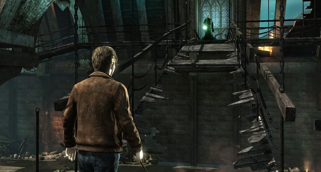Broken bridge (Deathly Hallows: Part 2 video game)