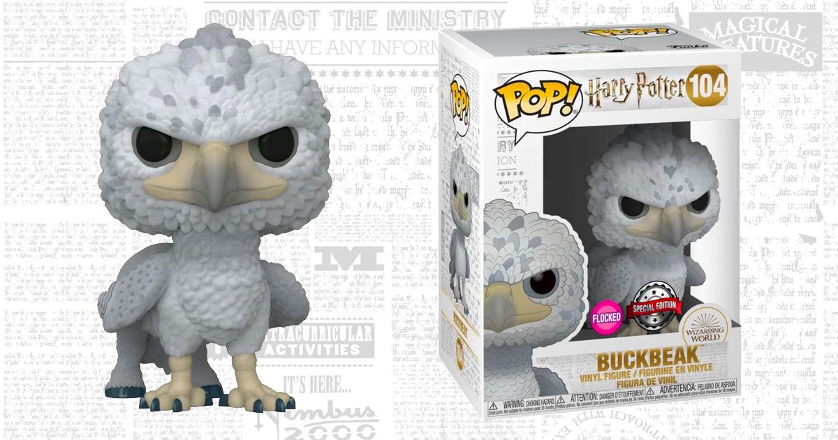 Hot Topic exclusive Buckbeak Funko Pop! Vinyl released
