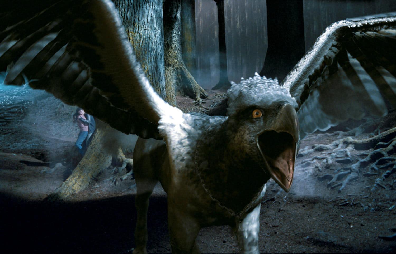 Buckbeak roars