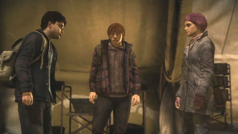 Camping (Deathly Hallows: Part 1 video game)