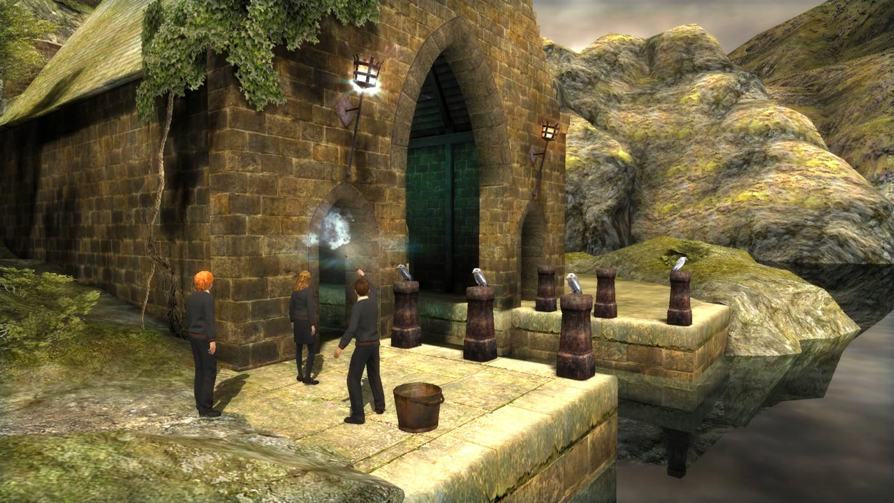 Casting spells (Order of the Phoenix video game)