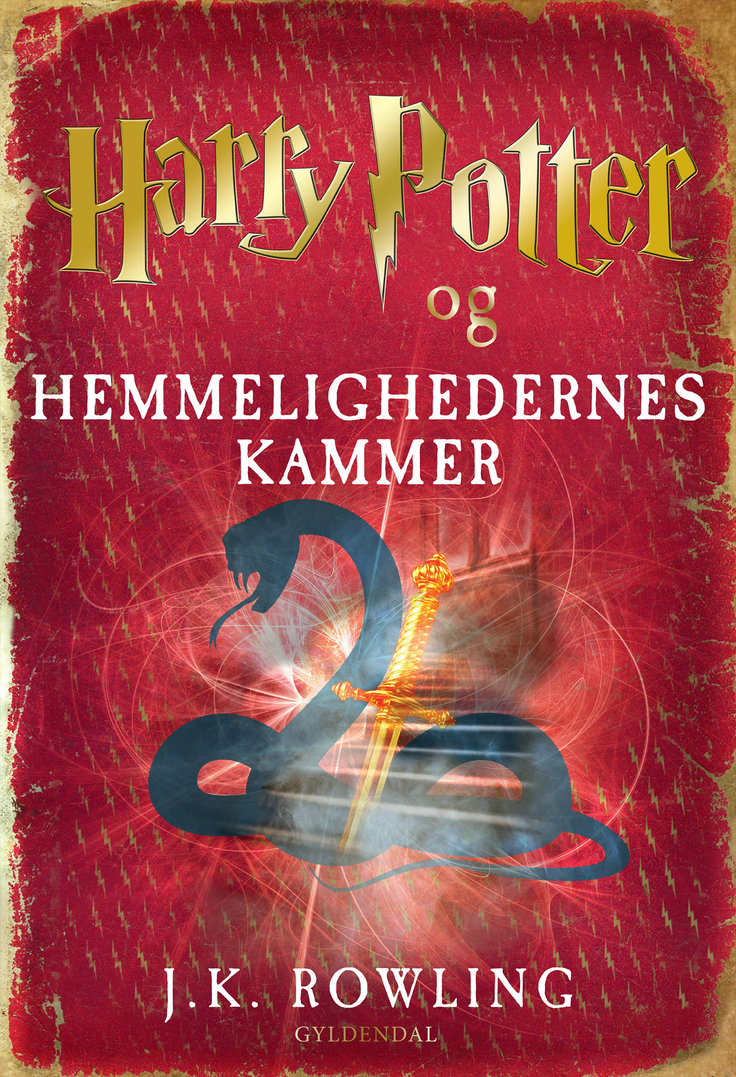 'Chamber of Secrets' Danish edition (2012)