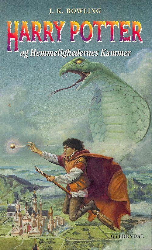 'Chamber of Secrets' Danish edition