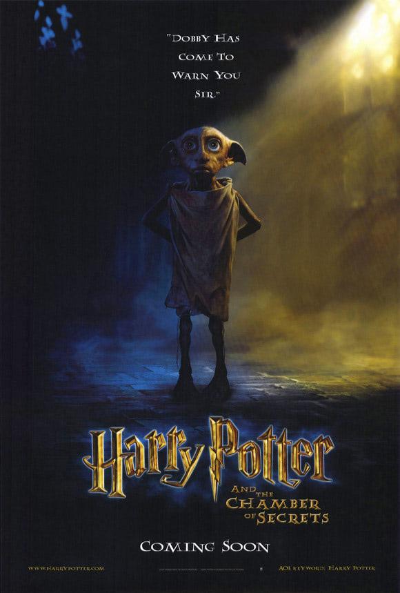 'Chamber of Secrets' Dobby poster