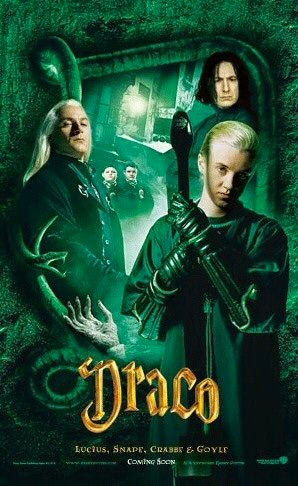 'Chamber of Secrets' Draco poster
