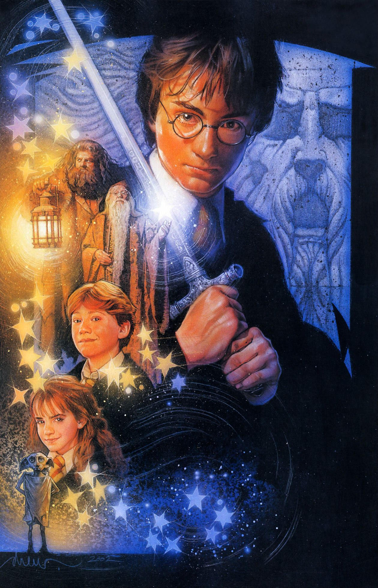 'Chamber of Secrets' (unfinished) Drew Struzan poster