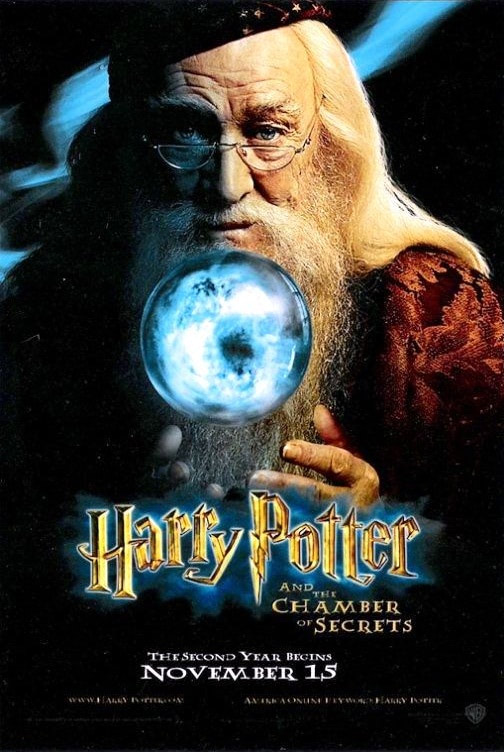 'Chamber of Secrets' Dumbledore poster