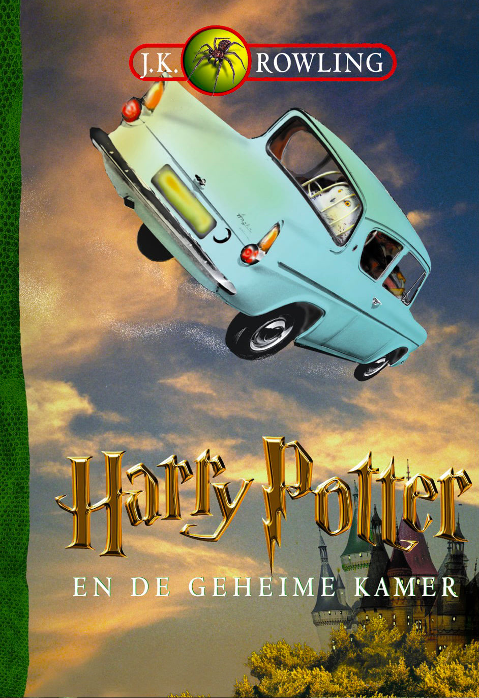 'Chamber of Secrets' Dutch edition